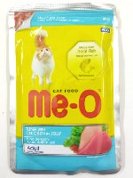 MeO Tuna with Chicken in Jelly Pouch