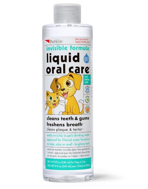 Petkin Pet Liquid Oral Care,Invisible Formula - Ofypets