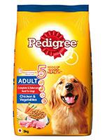 Pedigree Chicken And Vegetable Adult Dog Food