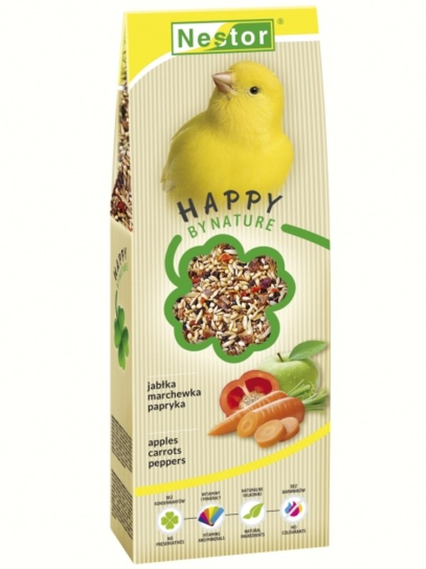 Nestor Premium Food For Canaries With Apples, Carrots And Peppers