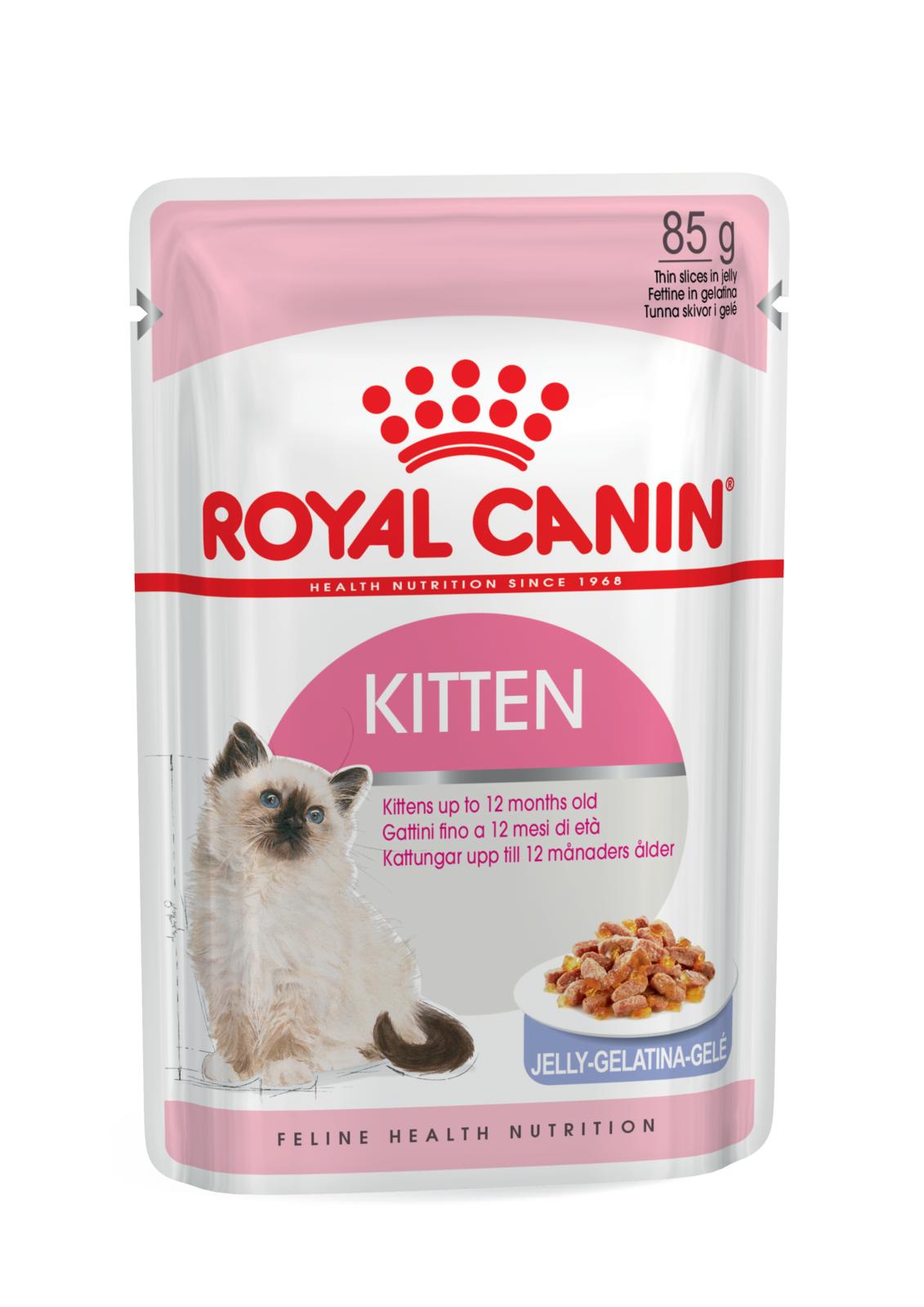 Royal Canin Kitten Instinctive Loaf Jelly Cat Food - Ofypets