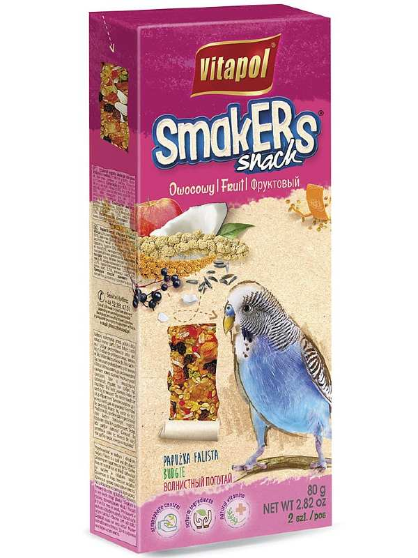 Vitapol Smakers Fruit Snack for Budgie
