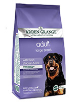 Arden Grange Chicken and Rice Adult Large Breed Dog Food