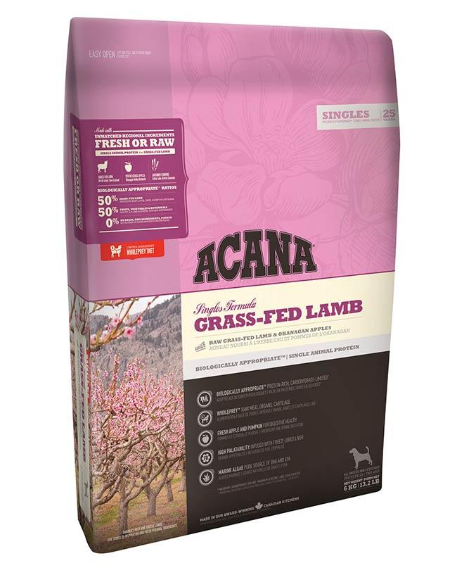 Acana Grass Fed Lamb Dog Food - OfyPets