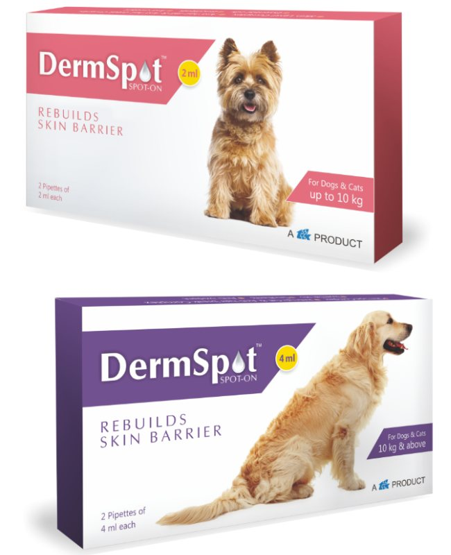 TTK Dermspot Spot-on for Dogs and Cats