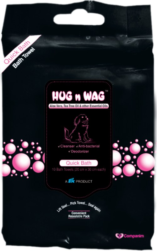 TTK Hug N Wag Quick Bath Towels