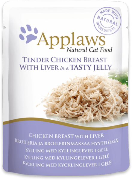 Applaws Chicken Breast with Liver in Jelly Cat Food Pouch