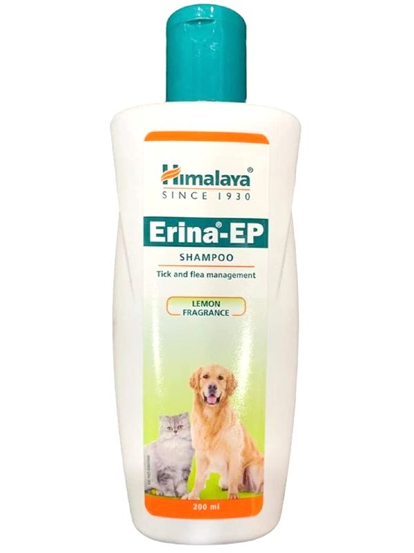 Himalaya Erina-EP Tick and Flea Control Shampoo for Dogs and Cats