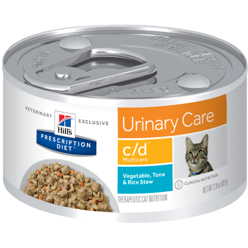 Hills Prescription Diet cd Urinary Care Feline Tuna Canned - Ofypets