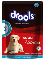 Drools Real Chicken and Chicken Liver Keema for Adult Dog Wet Food