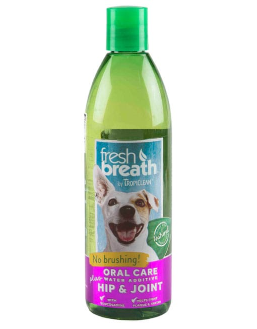 Tropiclean Fresh Breath Hip & Joint Water Additive - Ofypets