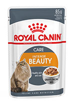 Royal Canin Intense Beauty Care Cat Gravy In Pouch
