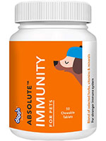 Drools Absolute Chewable Immunity Tablet for Pets