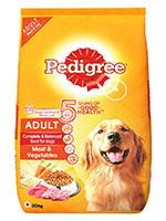 Pedigree Meat And Vegetable Adult Dog Food