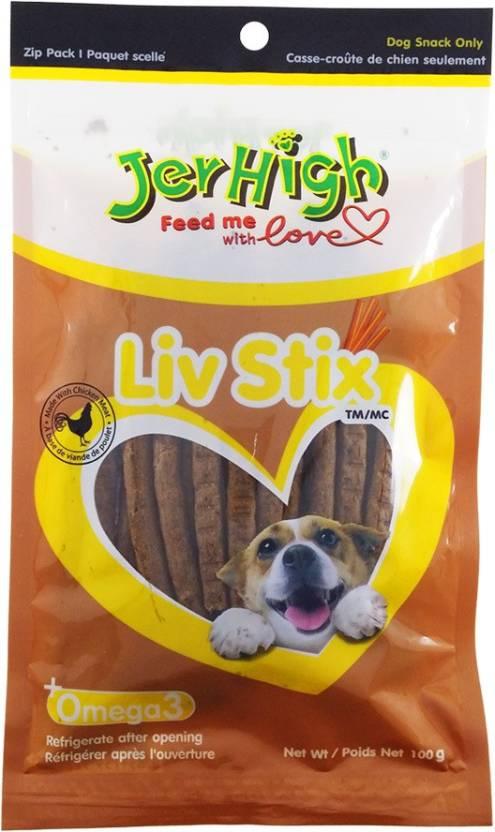 JerHigh LIv Stix Dog Treats - Ofypets