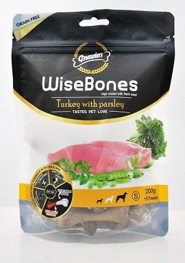 Gnawlers Wise Bone Turkey with Parsley 200g - Ofypets