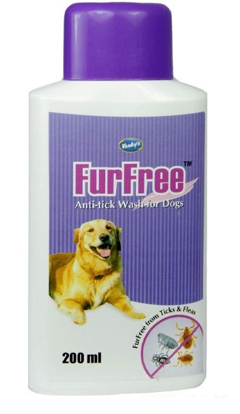 Venkys Furfree Anti-tick Shampoo for Dogs - Ofypets