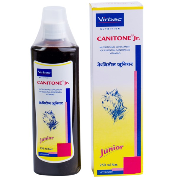 Virbac Canitone Junior Supplement for Dogs and Cats