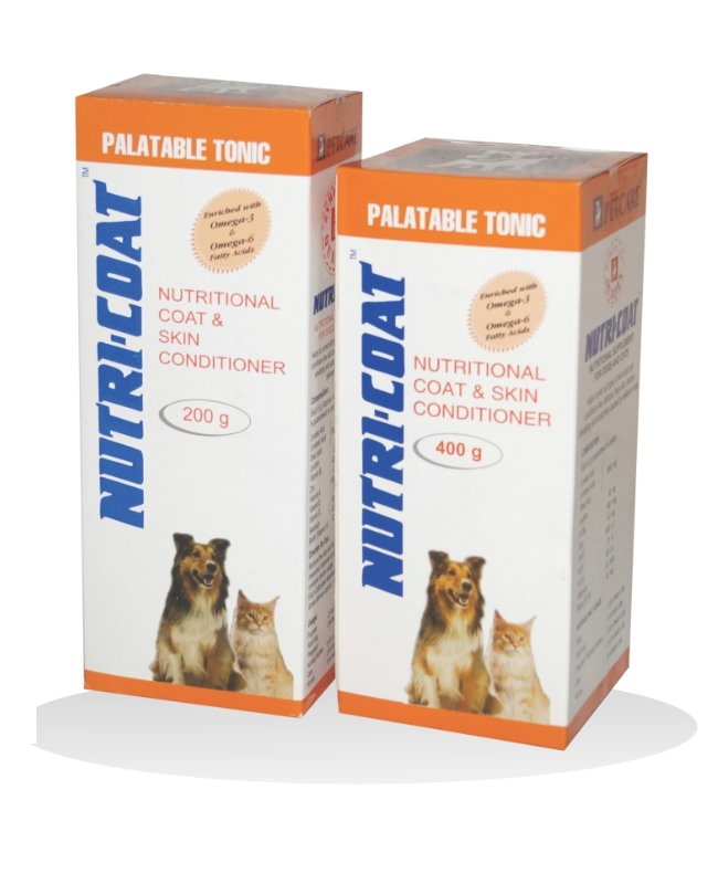 Petcare Nutricoat Skin & Coat Supplement for Dogs and Cats