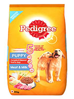 Pedigree Meat And Milk Puppy Dog Food