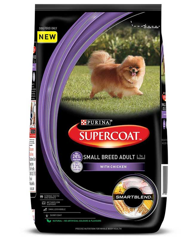 Purina Supercoat Small Breed Adult Dog Food
