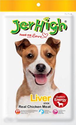 Jerhigh Liver Stick Dog Treats