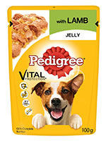 Pedigree Lamb in Jelly Adult Dog Wet Food