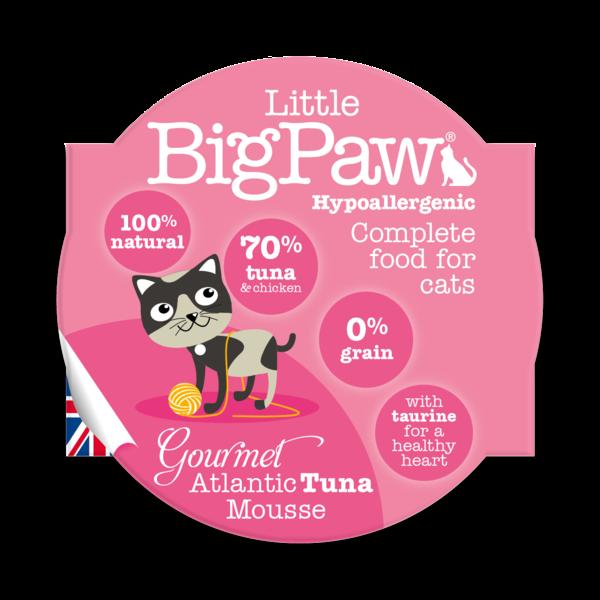 Little BigPaw Gourmet Atlantic Tuna Mousse Cat Gravy In Cups - Ofypets