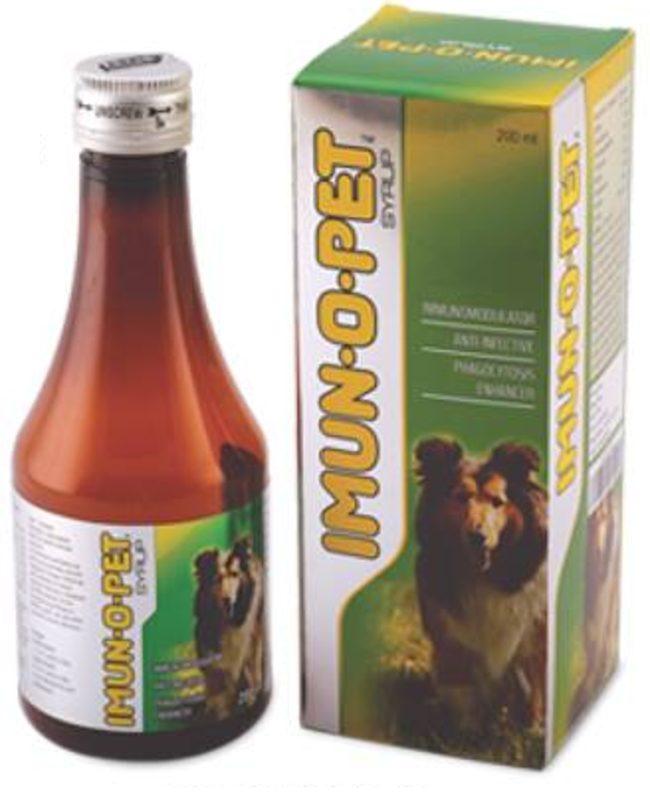 Imun-O-Pet Immunomodulator Anti-Infective Phagocytosis Enchancer Syrup