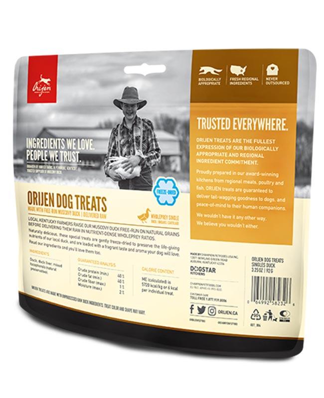 Orijen Free Run Duck Dog Treats - OfyPets