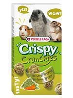 Versele laga Crunchies Crispy Hay and Carrot Small Pets Food