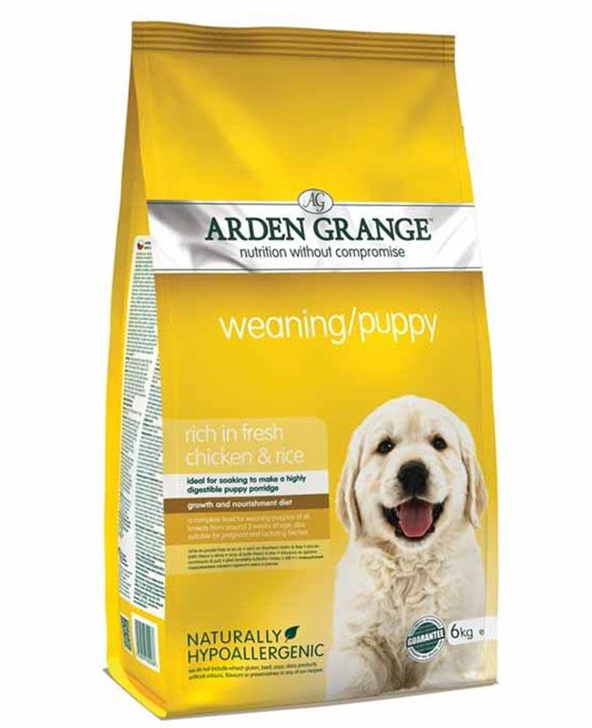 Arden Grange Chicken and Rice Weaning Puppy Dog Food