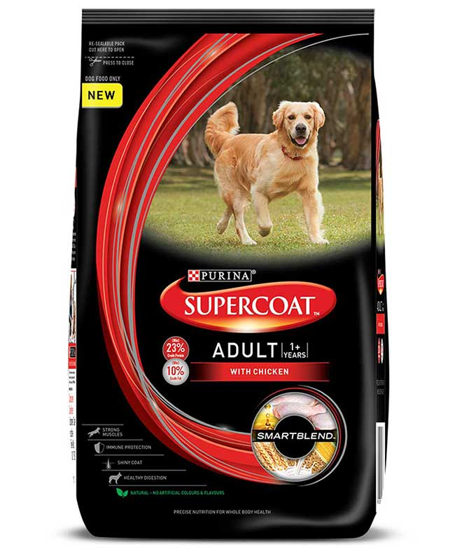 Purina Supercoat Adult Dog Food