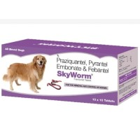 SkyEc SKYWORM Deworming Tablets for Dogs
