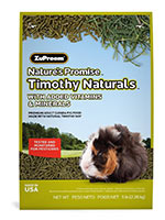 Zupreem Nature's Promise Timothy Naturals Guinea Pig Food
