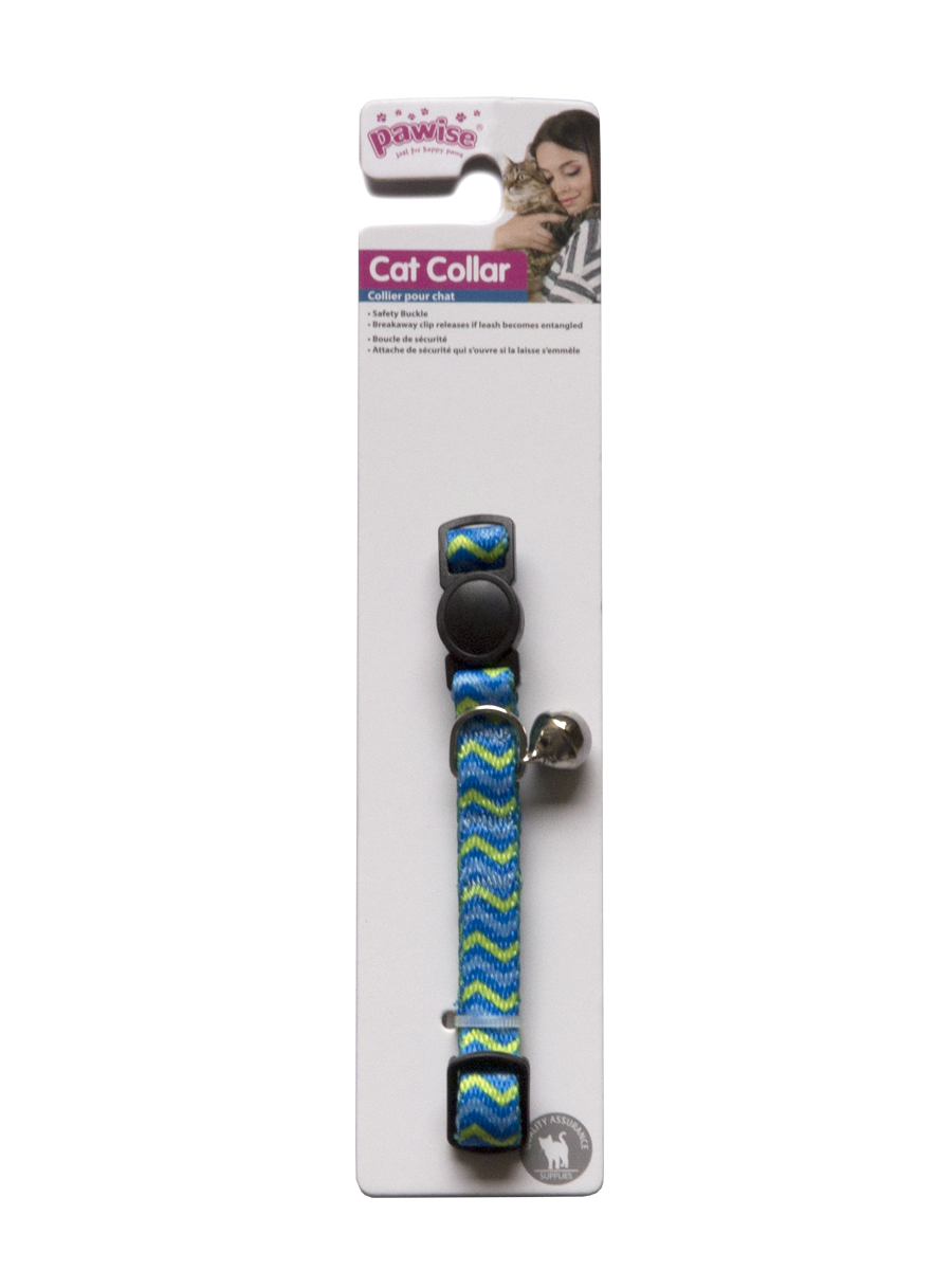 Pawise Ripple Blue Cat Collar - Ofypets