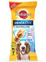 Pedigree Dentastix Oral Care Medium Breed Dog Treats - 7Stix