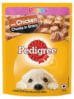 Pedigree Chicken Chunks Puppy Gravy