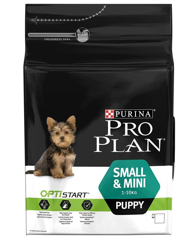 Purina Pro Plan Small And Mini Breed Puppy Dog Food