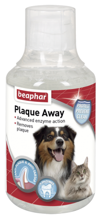Beaphar Plaque Away Mouth Freshener for Cats & Dogs - Ofypets