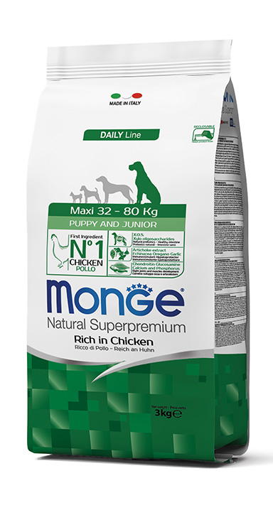 Monge Daily Line Maxi Puppy And Junior Dog Food - Ofypets