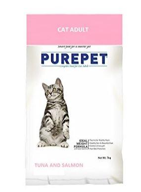 Purepet Tuna and Salmon Flavour Cat Food
