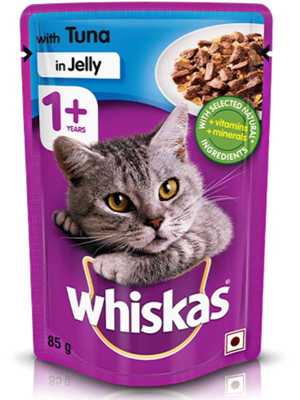 Whiskas Wet Meal Tuna Jelly