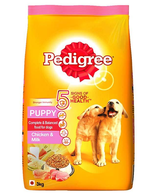 Pedigree Chicken And Milk Puppy Dog Food