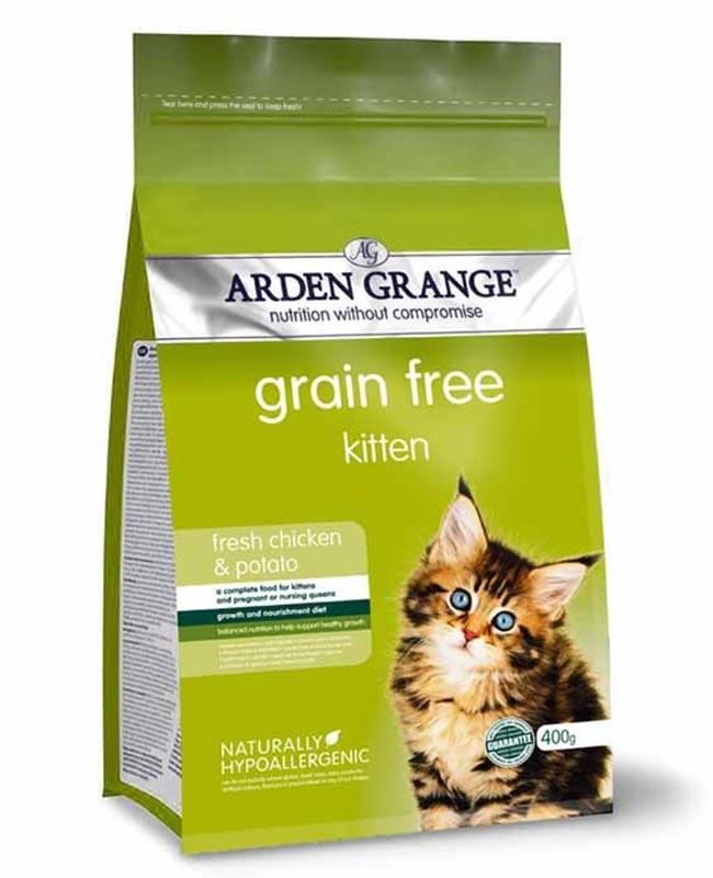 Arden Grange Grain Free Chicken and Potato Kitten Food