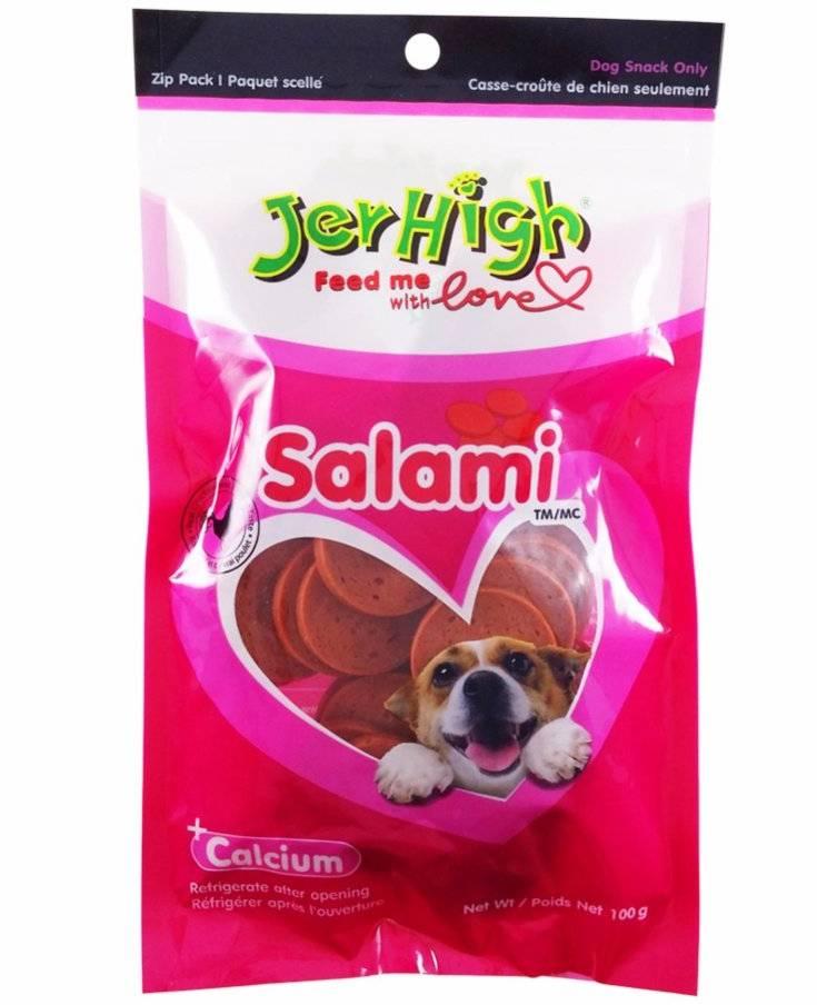 Jerhigh Salami Dog Treats
