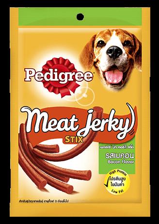 Pedigree Meat Jerky Stix, Bacon Flavor - 60g