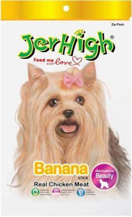JerHigh Banana Stik Dog Treats