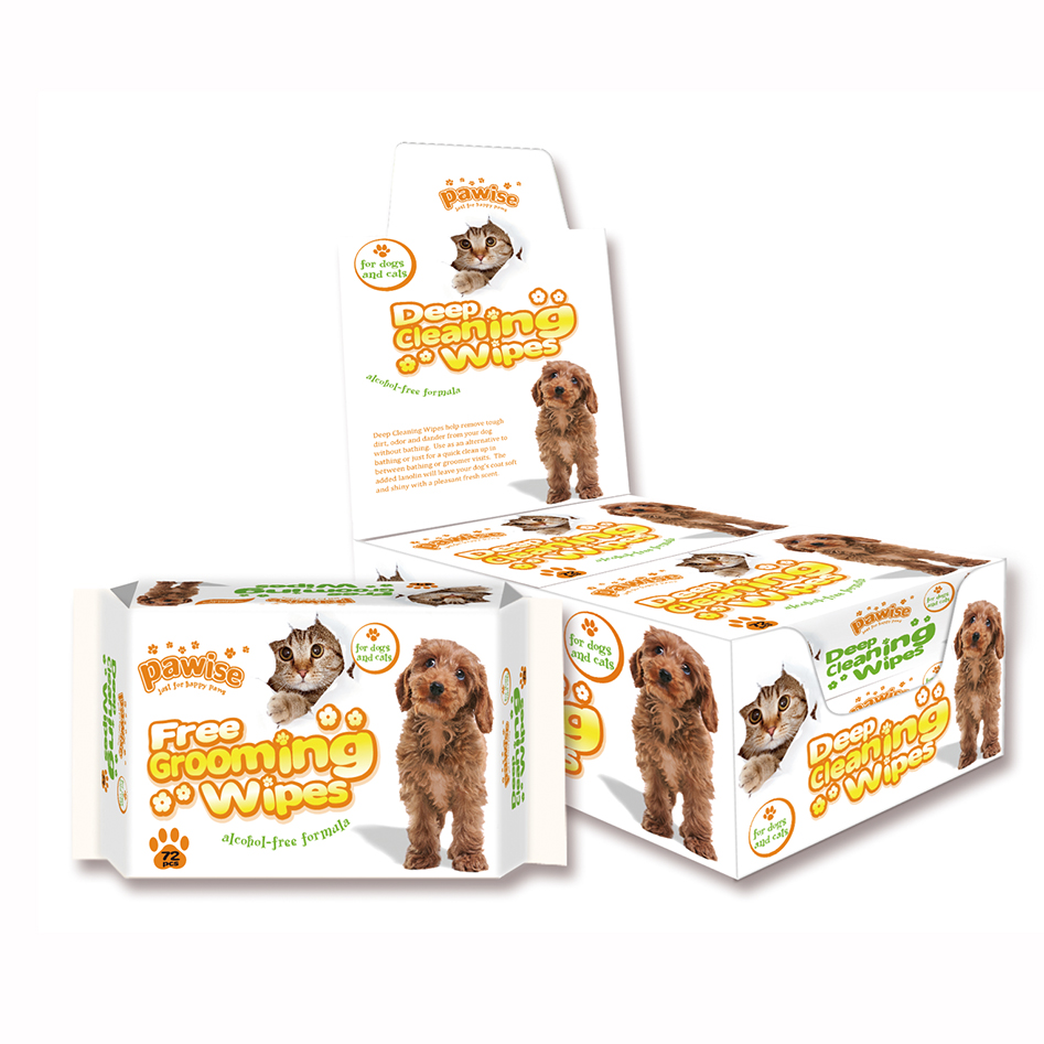 Pawise Deep Cleaning Pet Wipes - Ofypets