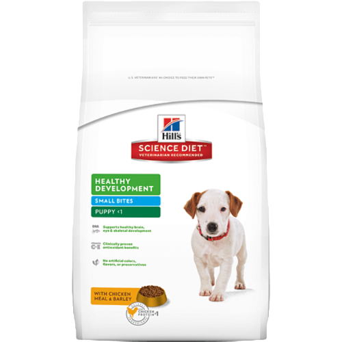 Hills Science Diet Healthy Development Small Bites Lamb Meal and Rice Puppy Food - Ofypets